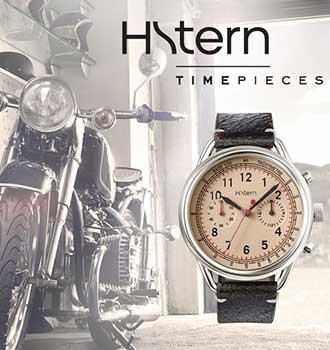 10fcbbf2042 O mundo das motocicletas e as aventuras masculinas pela estrada inspiraram  a criação dos novos relógios Racing