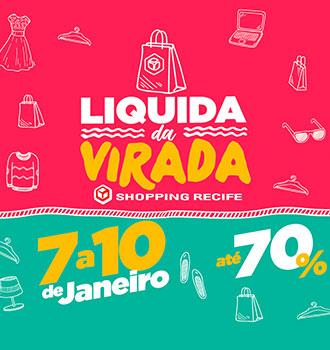 7b6c6660f7c3 O ano de 2016 vai começar com liquidação no Shopping Recife. É que pelo 2°  ano consecutivo, o centro de compras vai realizar o Liquida da Virada, ...