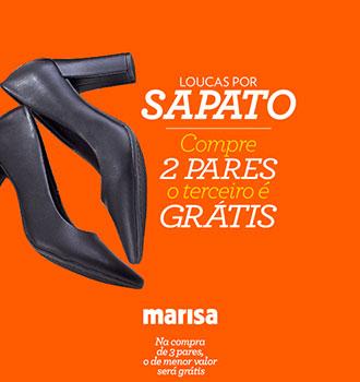 6328db2753 Loucas por sapato na Marisa. Notícias